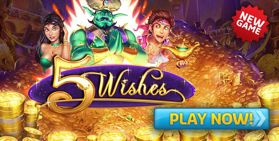 NEW GAME - 5 Wishes