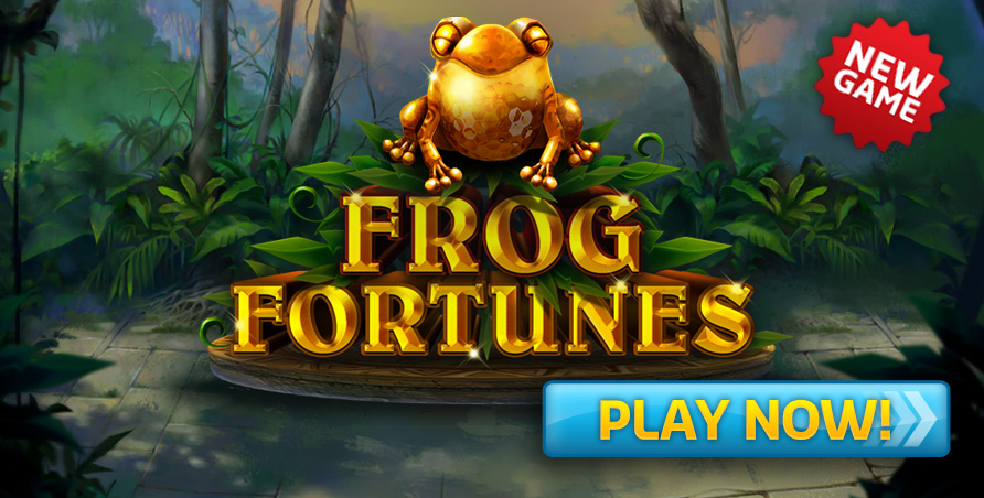 NEW GAME - Frog Fortunes