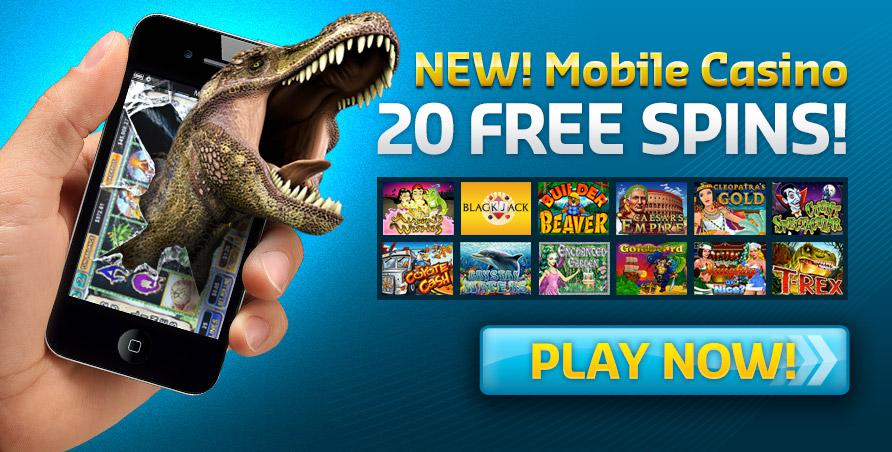 New Mobile Casino 20 Free Spins