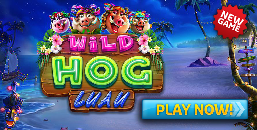 NEW GAME - Wild Hog Luau