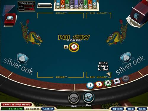 Play Pai Gow Poker for Real Money or Free