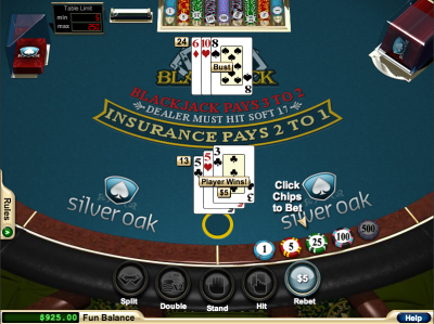 Splitting Fives in Blackjack