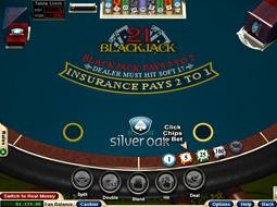 Silver games blackjack