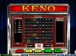 Keno Online Casino