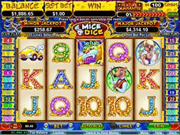 free casino games online slots with bonus roll online dice
