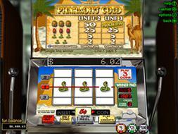 deposit online casino pharaoh s