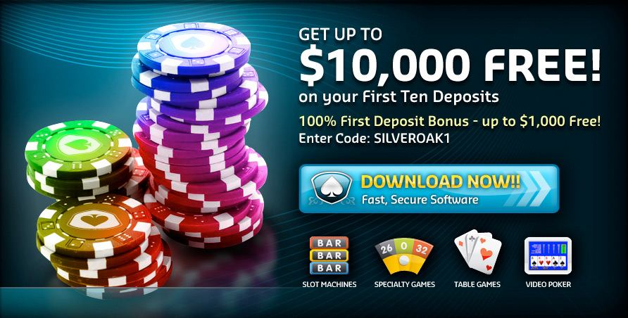 Get up to $10,000 Free Chip to Play Online casino Games